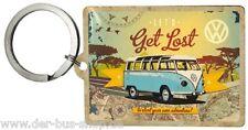 VW Bus T1 - Schlüsselanhänger - Get Lost - NEU & OVP