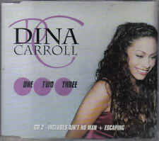 Dina Carroll- one two Three cd maxi single