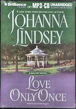 Audio book - Love Only Once by Johanna Lindsey  -   MP3-CD