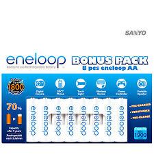 8 STÜCK AA AKKUS Eneloop * BONUS-PACK * Panasonic 2000 mAh AKKU MIGNON *  LR06
