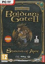 Baldurs Gate 2 II Shadows of Amn PC XP/VISTA SEALED NEW