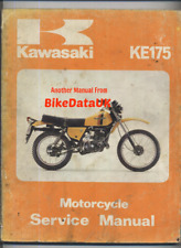 Kawasaki KE175 (1979 >>) Genuine Factory Service Manual Book KE 175 KV AGI BJ85