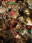 1 Kg Mixed Lot Jewellery Necklaces Bracelets Rings Earrings Hair Some Items 925