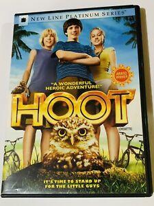 HOOT DVD CANADIAN WIDESCREEN NEW LINE PLATINUM SERIES