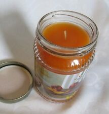 "NEW  Home & Garden Party ""Peaches & Cream"" 10 oz Jar Candle MADE IN USA"