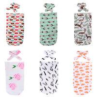 AU Newborn Baby Blanket Swaddle Sleeping Bag Sleepsack Stroller Wrap Outwear yu