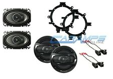 NEW PIONEER 3-WAY FOR EXTENDED & REGULAR CAB TRUCK STEREO FRONT & REAR SPEAKERS