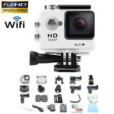 12MP HD 1080P Sports Action Waterproof Camera Mini DV SJ4000 as GoPro White