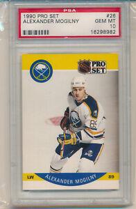 1990 Pro Set Alexander Mogilny (Rookie Card) (#26) PSA10 PSA