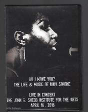 original dvd DO I MOVE YOU? Siri Vik LIFE & MUSIC NINA SIMONE Live 3+hrs footage