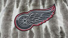 """Detroit Red Wings Huge XL High Quality Embroidered Patch 13""""x8.2"""""""