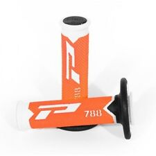 Pro Grip 788 Flo Orange Motocross MX Handlebar Grips - KTM SX125 2003 2004 2005