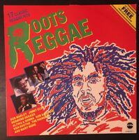 ROOTS REGGAE - 17 Classic Reggae Hits Various Artists LP Vinyl STAR 2233A VG/EX