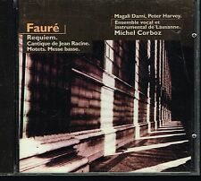 CD album: Fauré: requiem. Michel Corboz. aria. C3