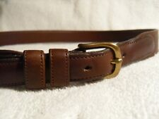 Coach brown leather belt 28 (mens) USA