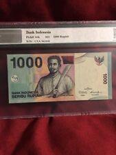 Indonesia, 2000 / 2016 1,000 Rupiah PUNL1000c* NPGS67 EPQ  ((Scarce Replacement)