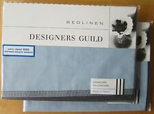 DESIGNERS GUILD Standard Pillowcase Pair ZETANI AZURE New