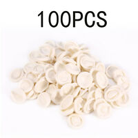 100Pcs/Bag Nail Art Latex Fingertips Protective Small Rubber Gloves Finger Cots