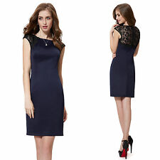 Ever-Pretty Polyester Solid Party/Cocktail Dresses for Women