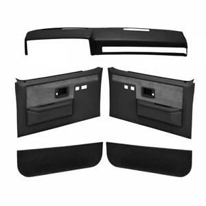 Coverlay 18-601CF for Chevy Blazer 87-91 Black Interior Combo Kit Full Power