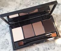 Bobbi Brown Makeup Palette Browns Cheek Eye Sterling NEW Mirror Brush
