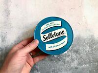 Vintage Industrial Sellotape Tin