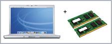 "6GB -2GB+4GB Memory Ram Upgrade Apple MacBookPro-3.1 17"" Mid 2007 2.4GHz A1229"