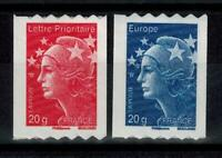 (a28) timbres France autoadhésifs n° 599/600 neufs** année 2011