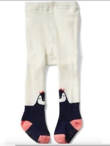 BABY GAP GIRL Penguin sweater tights 0-6m 6-12m