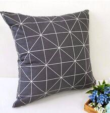 Neo square Grey 100% Cotton Fabric Scandinavian geometric lines Quilting ffB187-