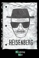 """BREAKING BAD - WANTED: HEISENBERG - 36 x 24"""" POSTER TV SERIES x"""