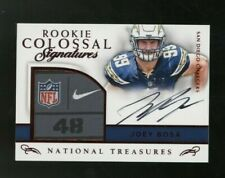 2016 National Treasures Colossal Joey Bosa RC RPA Tag Patch AUTO 5/5