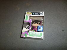 CATWOMAN  FUNKO POP# 136 LEGION OF COLLECTORS EXCLUSIVE