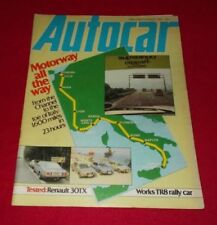Autocar Weekly August Magazines