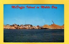 """McDuffie Island in Mobile Bay,site of the """"Welcome Home"""" for WWII Alabama ships"""