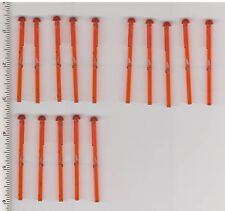 Star Wars LEGO x 15 Trans-Orange Bar 1 x 8 with Round End Spring Shooter Dart 8L