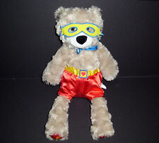 "16"" Scentsy Buddy Sebastian the Superbuddy Bear Plush"