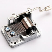 Many Songs Mechanical Hand Crank Musical Music Box Movement DIY Accessories NEW