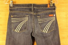 WOMENS SEVAN FOR ALL MANKIND DOJO JEANS SIZE 26X28 VERY GOOD  CONDITION #632