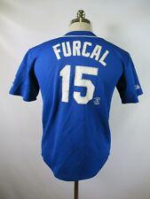 E4602 VTG MAJESTIC Los Angeles Dodgers Rafael Furcal 15 MLB Baseball Jersey