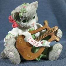 Calico Kittens The First Noel #144606 Patricia Hillman 1995 Figurine