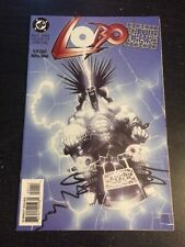 """Lobo:In The Chair#1 Incredible Condition 9.4(1994) Martine-Emond Art""""Oneshot"""""""