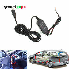 12V to 5V Hard Wire Power Adapter Cable Mini USB Car DVR Dash Camera New BSG