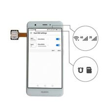 Double Dual SIM Card Micro Adapter for Android Extender 2 Nano Micro SIM`AdODUS