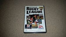 Australian Rugby League Sega Mega Drive Game, Cleaned & Tested, MegaDrive