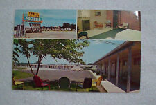 Vintage Postcard Twin City Motel Festus Crystal City, MO 1950s AMHA AM Express