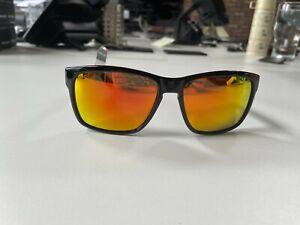 Rudy Project Spinhawk Black Gloss - Multi Laser Orange Sunglasses