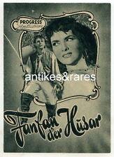 Filmprogramm: Fanfan der Husar, Nr. 5/54