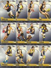 2014 AFL SELECT CHAMPIONS WEST COAST EAGLES COMMON TEAM SET 12 CARDS