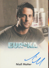 Niall Matter 2011 Rittenhouse Eureka autograph auto card